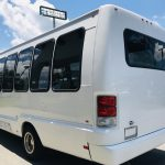 Ford E450 19 passenger charter shuttle coach bus for sale - Gas 5