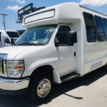 Ford E450 19 passenger charter shuttle coach bus for sale - Gas 7