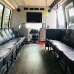 Ford E450 19 passenger charter shuttle coach bus for sale - Gas 10