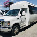 Ford E450 23 passenger charter shuttle coach bus for sale - Gas 9