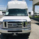 Ford E450 23 passenger charter shuttle coach bus for sale - Gas 10