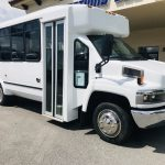 Chevy C4500 12 passenger charter shuttle coach bus for sale - Diesel 1