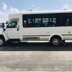 Chevy C4500 12 passenger charter shuttle coach bus for sale - Diesel 6
