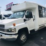 Chevy C4500 12 passenger charter shuttle coach bus for sale - Diesel 7