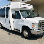 Ford E450 19 passenger charter shuttle coach bus for sale - Gas 1