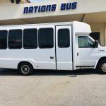 Ford E450 19 passenger charter shuttle coach bus for sale - Gas 2
