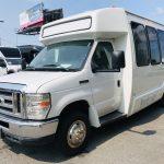 Ford E450 19 passenger charter shuttle coach bus for sale - Gas 7