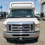 Ford E450 19 passenger charter shuttle coach bus for sale - Gas 8