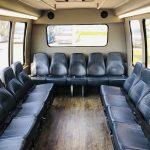 Ford E450 19 passenger charter shuttle coach bus for sale - Gas 10