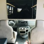 Ford E450 19 passenger charter shuttle coach bus for sale - Gas 13