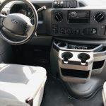 Ford E450 19 passenger charter shuttle coach bus for sale - Gas 14