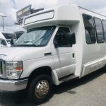 Ford E450 19 passenger charter shuttle coach bus for sale - Gas 6