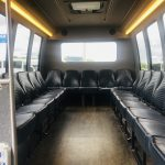 Ford E450 19 passenger charter shuttle coach bus for sale - Gas 8