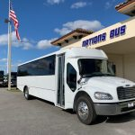 Freightliner S2C 37 passenger charter shuttle coach bus for sale - Diesel 1
