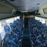 Van Hool  56 passenger charter shuttle coach bus for sale - Diesel 6