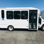 Ford E350  12 passenger charter shuttle coach bus for sale - Gas 1