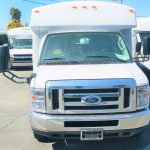 Ford E450 20 passenger charter shuttle coach bus for sale - Gas 4
