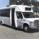 Ford E450 22 passenger charter shuttle coach bus for sale - Gas 1