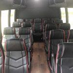 Ford E450 22 passenger charter shuttle coach bus for sale - Gas 8