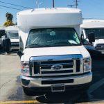 Ford E350  12 passenger charter shuttle coach bus for sale - Gas 4
