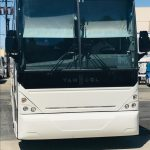 Van Hool  56 passenger charter shuttle coach bus for sale - Diesel 5