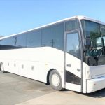 Van Hool  56 passenger charter shuttle coach bus for sale - Diesel 1