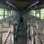 Freightliner M2 39 passenger charter shuttle coach bus for sale - Diesel 6