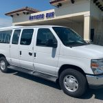 Ford E350 10 passenger charter shuttle coach bus for sale - Gas 1