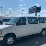 Ford E350 10 passenger charter shuttle coach bus for sale - Gas 3