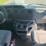 Ford E350 10 passenger charter shuttle coach bus for sale - Gas 8