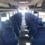 Van Hool  57 passenger charter shuttle coach bus for sale - Diesel 6