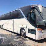 Setra 56 passenger charter shuttle coach bus for sale - Diesel 6