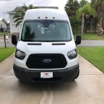 Ford Transit 350 XL 8 passenger charter shuttle coach bus for sale - Gas 1