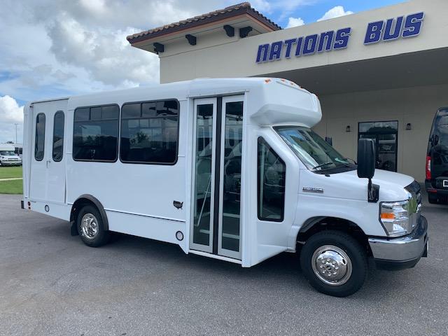 Ford E350 12 passenger charter shuttle coach bus for sale - Gas