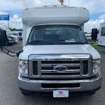 Ford E350 12 passenger charter shuttle coach bus for sale - Gas 2