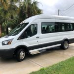 Ford Transit 350 XL 8 passenger charter shuttle coach bus for sale - Gas 2