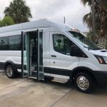 Ford Transit 350 XL 8 passenger charter shuttle coach bus for sale - Gas 5