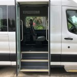 Ford Transit 350 XL 8 passenger charter shuttle coach bus for sale - Gas 6