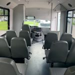 Ford E350 12 passenger charter shuttle coach bus for sale - Gas 7