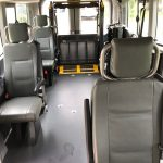 Ford Transit 350 XL 8 passenger charter shuttle coach bus for sale - Gas 7