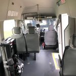 Ford Transit 350 XL 8 passenger charter shuttle coach bus for sale - Gas 8