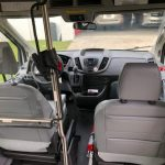 Ford Transit 350 XL 8 passenger charter shuttle coach bus for sale - Gas 9