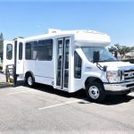 Ford E350 12 passenger charter shuttle coach bus for sale - Gas 1