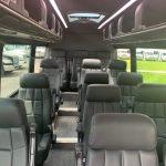 Mercedes 3500 14 passenger charter shuttle coach bus for sale - Diesel 6