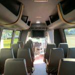 Ford E450 23 passenger charter shuttle coach bus for sale - Gas 12