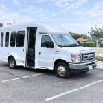Ford E350 9 passenger charter shuttle coach bus for sale - Gas 3