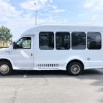 Ford E350 9 passenger charter shuttle coach bus for sale - Gas 6