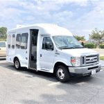 Ford E350 9 passenger charter shuttle coach bus for sale - Gas 1