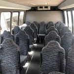 Ford E450 24 passenger charter shuttle coach bus for sale - Diesel 6