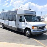Ford E450 24 passenger charter shuttle coach bus for sale - Diesel 1
